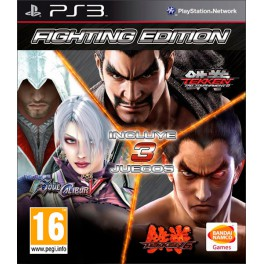 Fighting Edition S.Calibur V+Tekken 6 y Tekken TT2