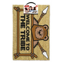 Star Wars Felpudo Welcome To The Tribe Ewok