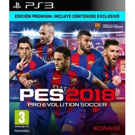 PES 2018 Premium Edition - PS3