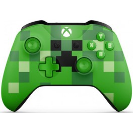 Wireles Controller Minecraft Verde - Xbox one
