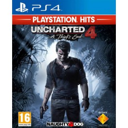Uncharted 4: El desenlace del Ladrón PS Hit