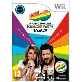 40 Principales Karaoke Party 2 - Wii