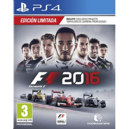 F1 2016 Edición Limitada Day 1 - PS4