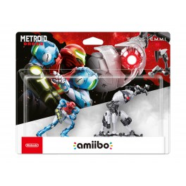 Amiibo Pack Metroid Dream - Samus + EMMI - Hybrid